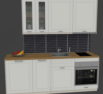 Storklinten 50 – Standard kök med diskmaskin